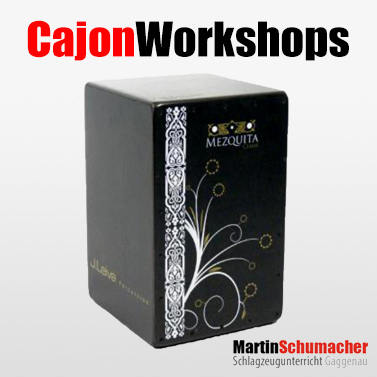 Cajon-Workshops in Gaggenau